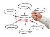 INVESTMENT OPTIONS — Stock Photo