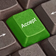 Постер, плакат: Hot keys for Accept