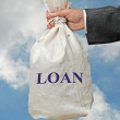 Stock Photo: Bag with loan