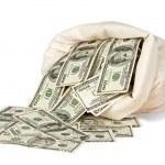 Money bag — Stock Photo #6687040