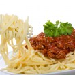 Stock Photo: Spaghetti with meat sauce