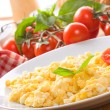 Scrambled eggs — Stock Photo