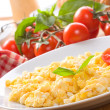 Scrambled eggs - Stock Photo