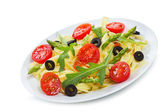 野菜のパスタ — ストック写真