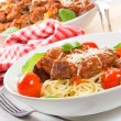Pasta with meatballs — Stock Photo #5835439