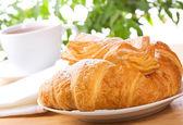 Croissant e pastelaria — Foto Stock