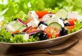 Greek salad — Zdjęcie stockowe