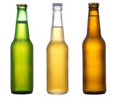 Different bottles of beer — Stock Photo
