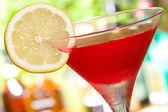 Красный коктейль — Стоковое фото