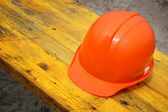 Construction helmet — Stock Photo