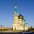 Uspenskiy Cathedral.Omsk.Russia — Stock Photo #5597567
