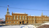 Building of Town Council Omsk.Russia — Stock Photo