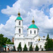 Kresto-Vozdvijenskii cathedral.Omsk.Russia — Stock Photo