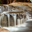 Small waterfall landscape with long exposure — Photo
