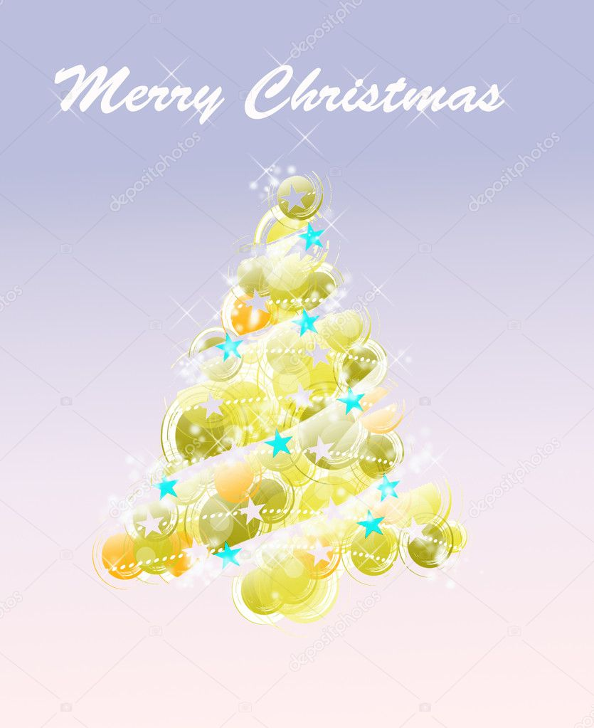 Christmas card background — Stock Photo #6147279
