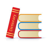 Stack of books — Stock Vector