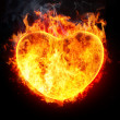 Heart in fire — Stock Photo #6284586