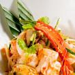 Fresh seafood thai salad — Stock Photo