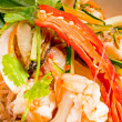 Stock Photo: Fresh seafood thai salad