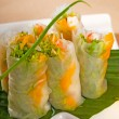 Vietnamese style summer rolls — Stock Photo