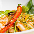 Fresh seafood thai salad — Stock Photo
