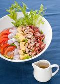 Fresh caesar salad — Stock Photo