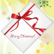 Christmas background with Christmas gifts — Vettoriali Stock