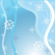 Blue Christmas background — Imagen vectorial
