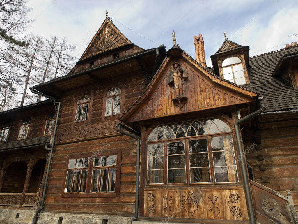 Traditional polish wooden hut from zakopane stock photo wjarek 5381591 - Traditional polish houses wood mastership ...