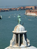 Venice - view from the tower of the church of San Giorgio Magiore — Stockfoto