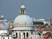 Venice - The Roofs of Salute — Stock Photo