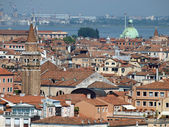 Venice - view from the tower of the church of San Giorgio Magiore — Stock Photo