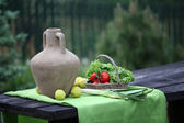 Still life in the rural outdoors — Stock Photo