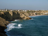Coast near Sagres Point in Portugal — Stock Photo