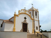 Church in Vila do Bispo, Algarve, Portugal — Stok fotoğraf