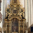 Krakow - St. Catherine's church interior - Stock Photo