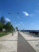 Portimao-resort aan de atlantische kust van de algarve, portugal — Stockfoto