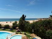 Portimao-resort on coast of the Algarve — Stock Photo