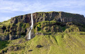 Icelandic waterfall — ストック写真