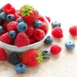 Big Pile of Fresh Berries — Stock Photo