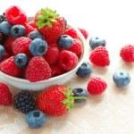 Big Pile of Fresh Berries — Stock Photo