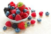 Big Pile of Fresh Berries — Foto de Stock
