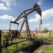 Working oil pump — Stock Photo #5548589