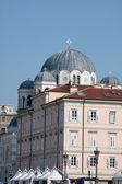 Temple orthodoxe serbe à trieste — Photo