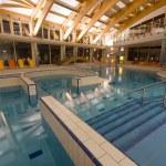 Indoor swimming pool — Stock Photo