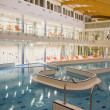 Indoor swimming pool - Stock Photo