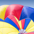 Colorful parachute - Stock Photo