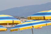 Playa umrella — Foto de Stock