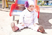Baby, porträtt — Stockfoto