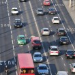 Heavy traffic - Stock Photo
